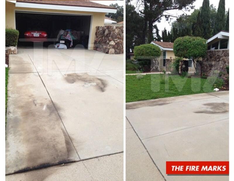 La actriz prendió fuego ayer por la noche en el garage de una casa en California. Cuando la policía llegó al lugar, Amanda lucía perdida. Todo esto, según reportes de TMZ.