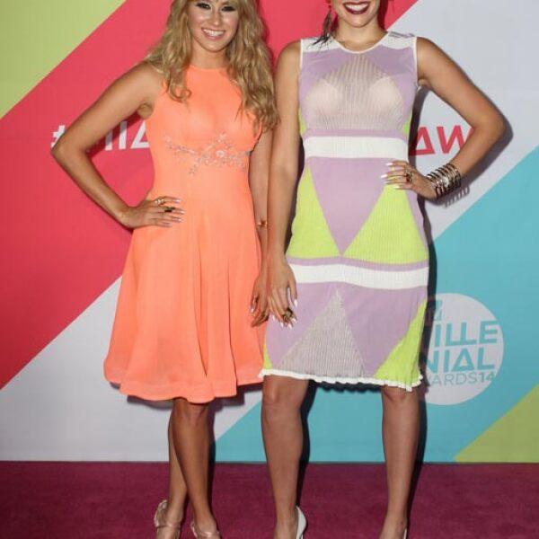 Hanna y Ashley de Ha-Ash