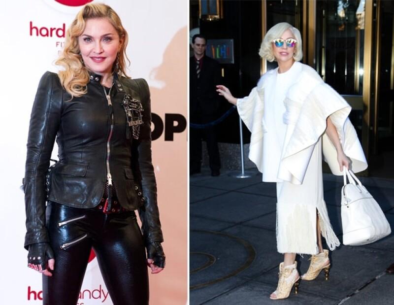 Lady Gaga está orgullosa de haber hecho enojar a la Reina del Pop.