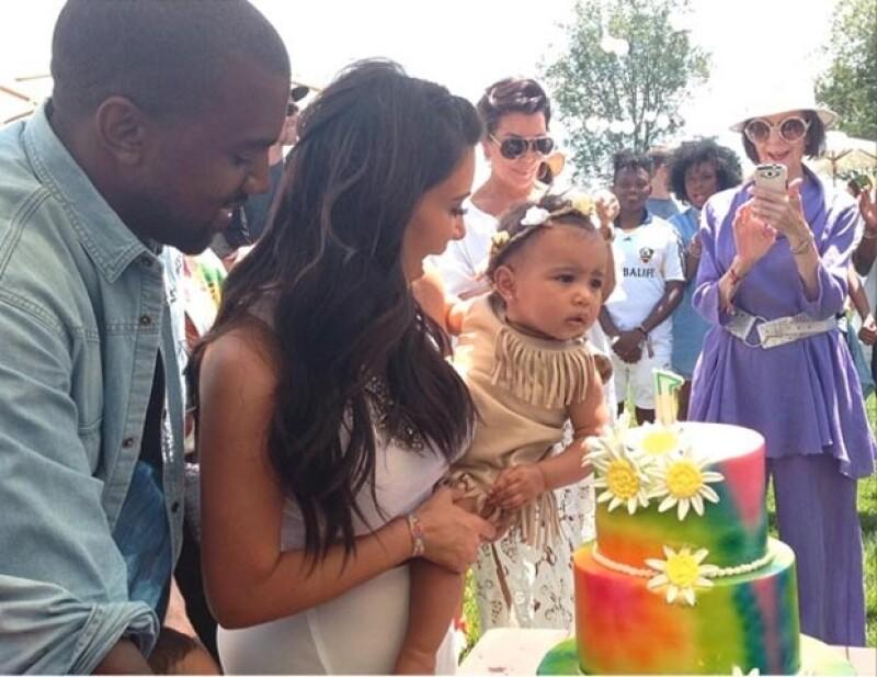 Con Kidchella fue como Kim y Kanye celebraron el primer cumpleaños de su pequeña.
