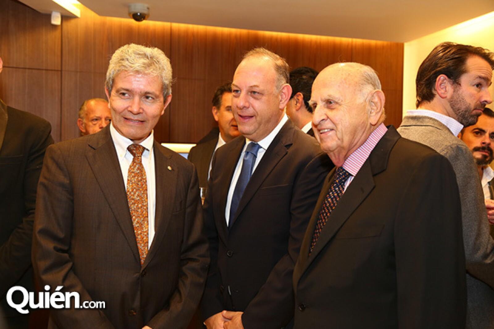 Luis José Touron, Embajador de Suiza, Ari y Maurice Berger