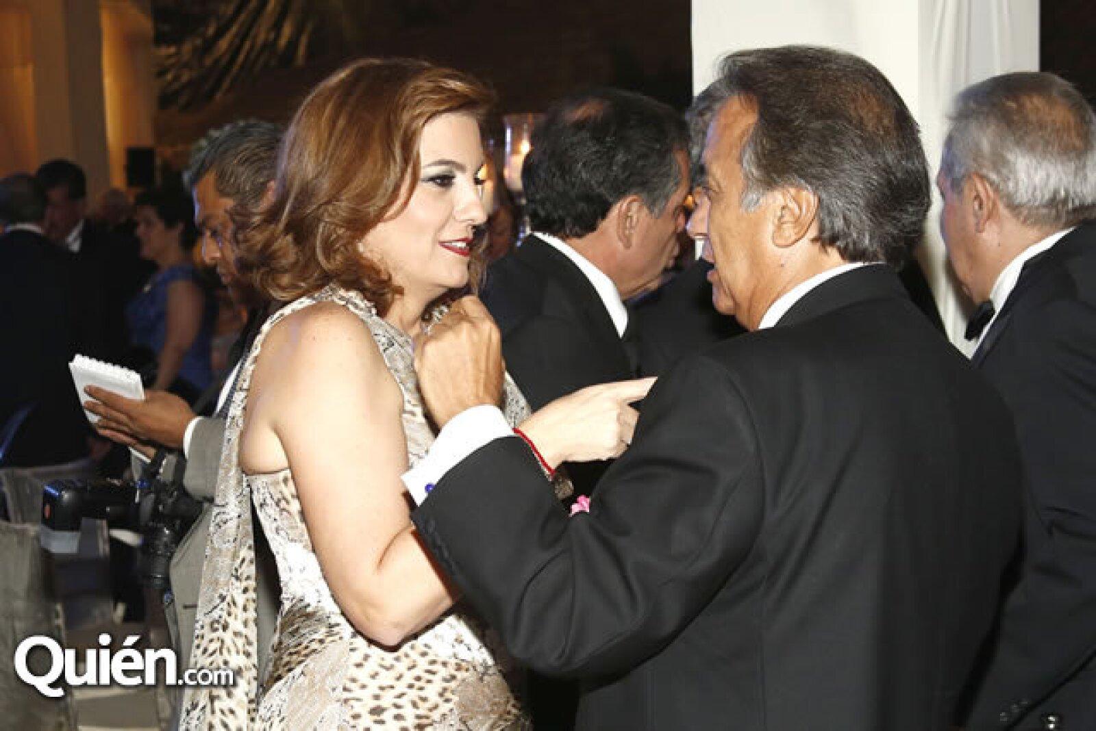 Mónica Ahued y Miguel Rincón