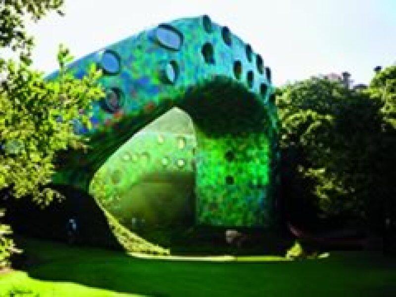 Nido de Quetzalcóatl, de Senosiain Arquitectos (Foto: Cortesía WAFB)