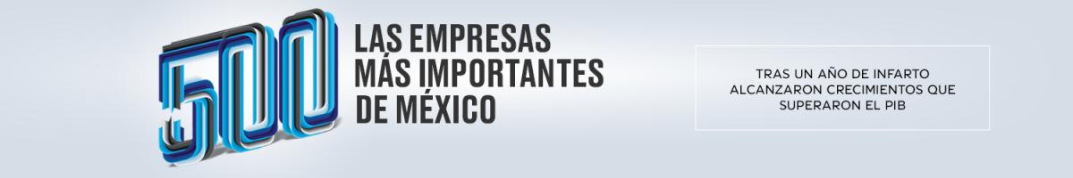 Las 500 empresas más importantes de México desktop header