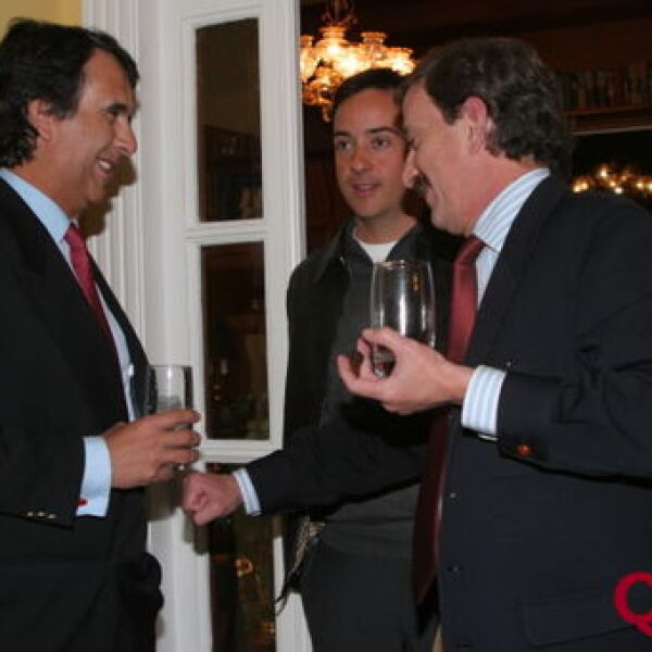 Fernando Álvarez, Emilio Cabrero, Carlos de Ovando