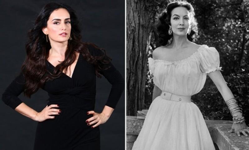 Ana de la Reguera mostró estar orgullosa por tener algo en común con la recordada y gran actriz mexicana.