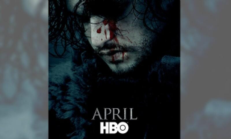 El póster que ha despertado controversia. (Foto: HBO/ Cortesía)