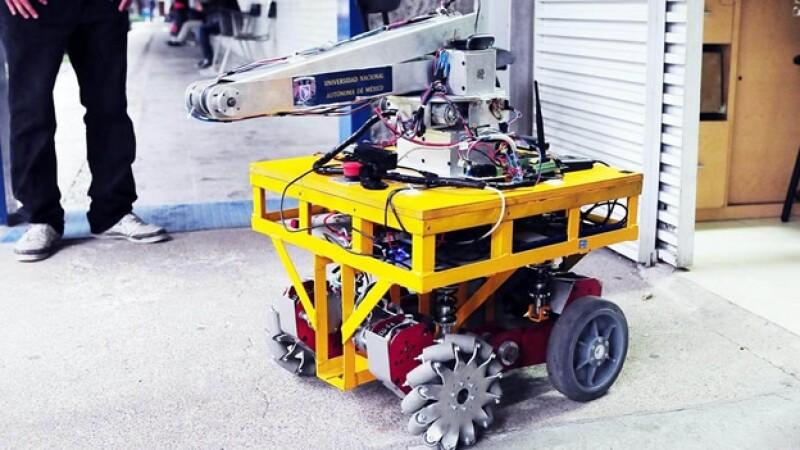 robot para zonas de desastre