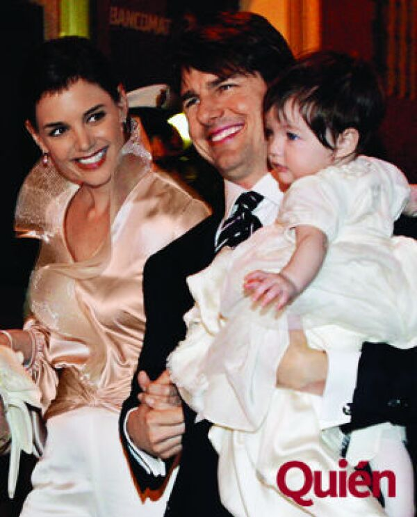Katie Holmes, Tom Cruise, Suri Cruise Holmes