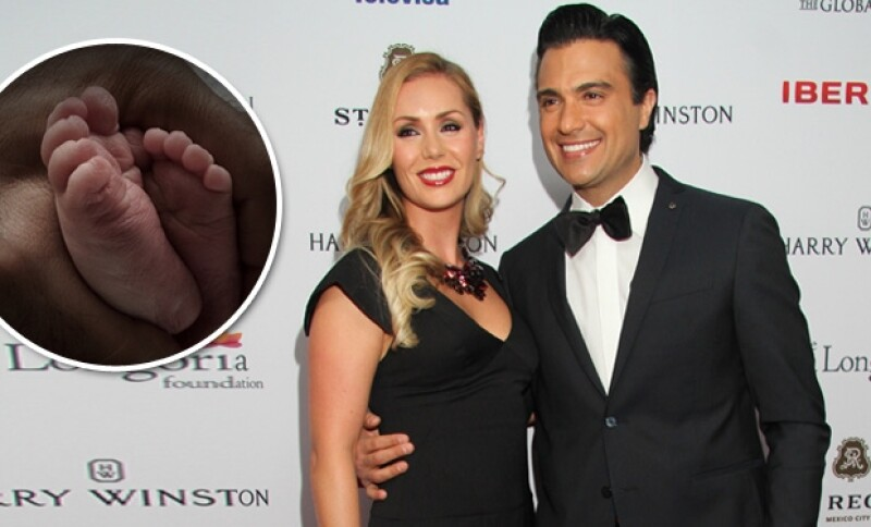 Heidi Balvanera y Jaime Camil dieron un hermanito a su primera hija Elena.