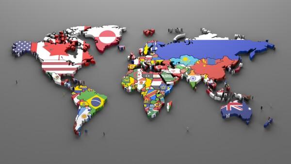 Elecciones en el mundo - Mapa mundial - mapamundi