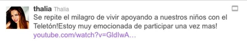 La cantante mexicana confirmó vía Twitter que estará en el cierre de la emisión televisiva.