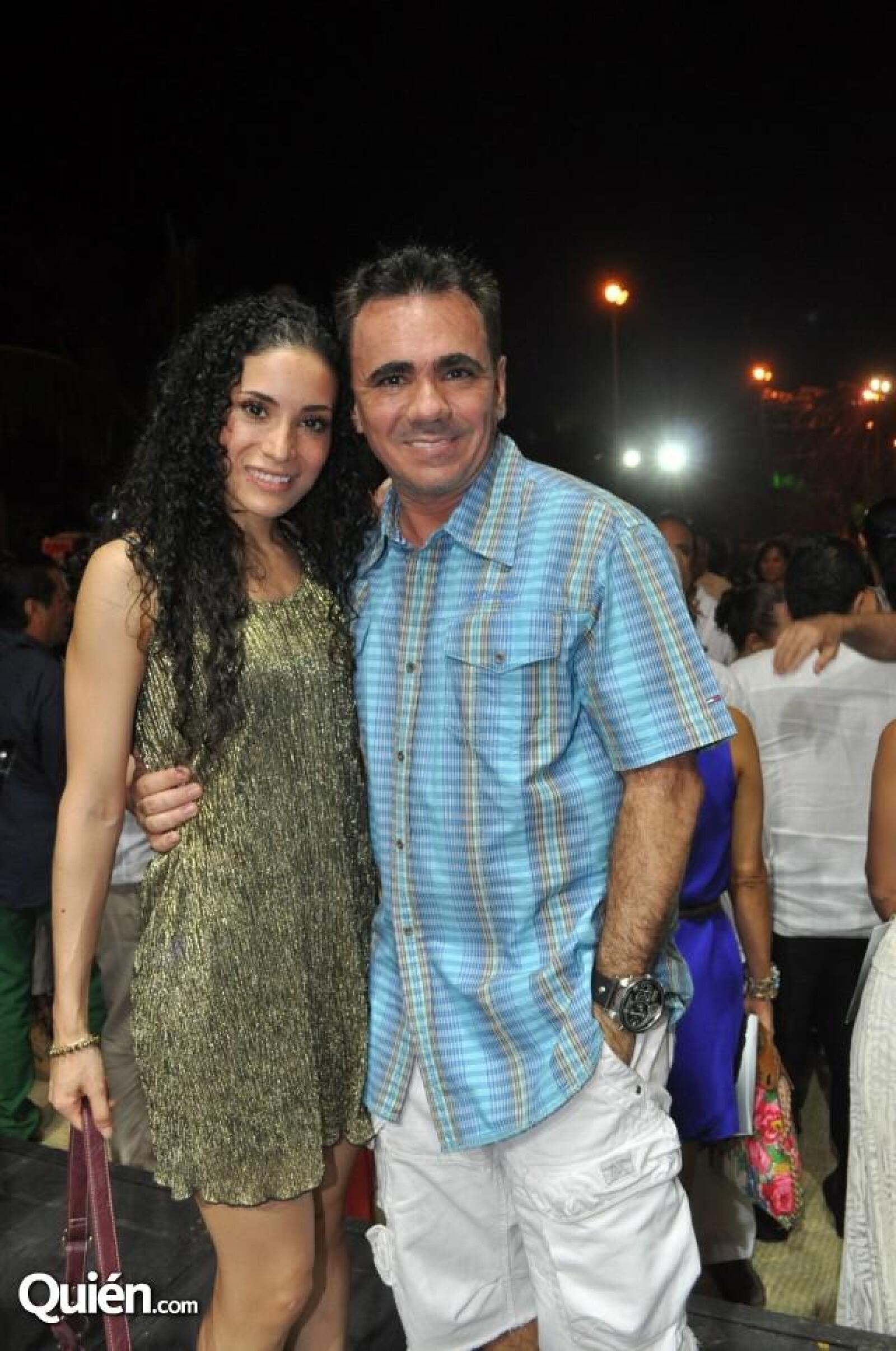 Gerardo Quiroz y Saitza Santini.
