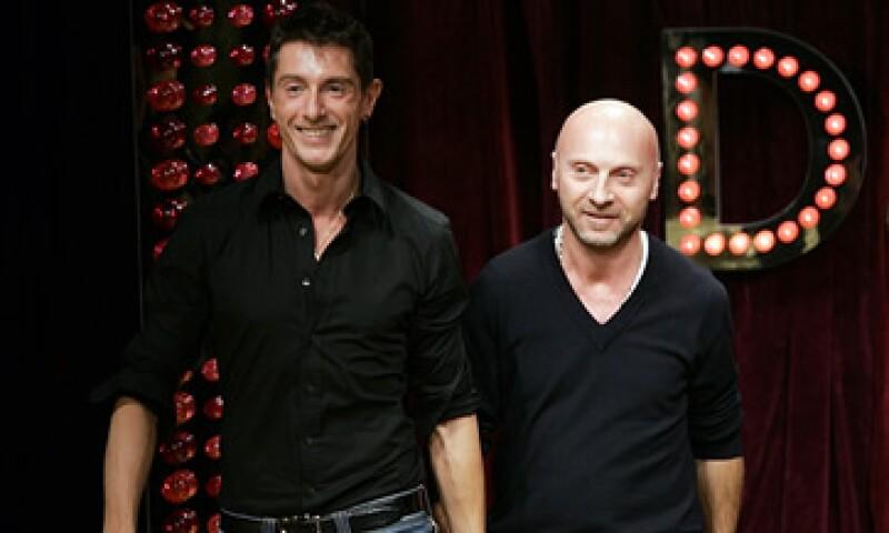 Gabbana –izq- y Dolce –der- fueron las personas que indirectamente se beneficiaron más de la operación, dice la fiscalía. (Foto: AP)