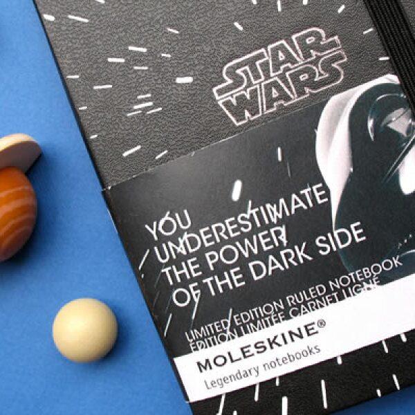 Moleskine lanzó una edición especial de sus libretas, bajo la temática de'Star Wars', con los diseños de la famosa saga creada por George Lucas.