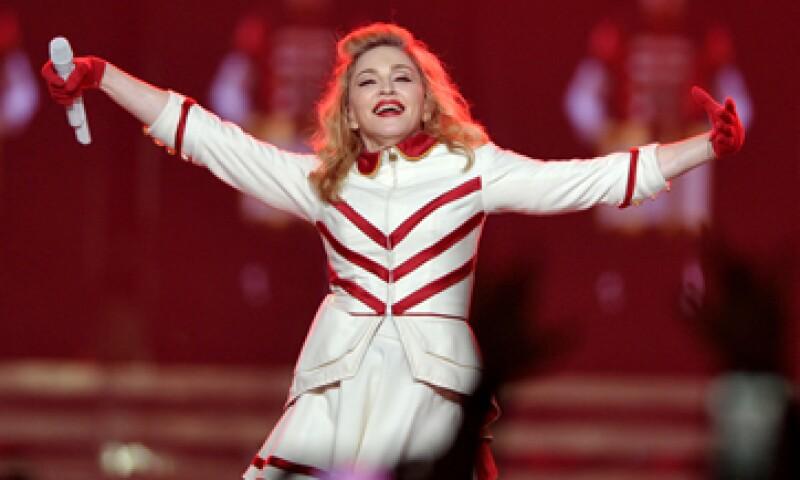 La cantante de 54 años de edad encabezó la lista anual de la revista Billboard. (Foto: AP)
