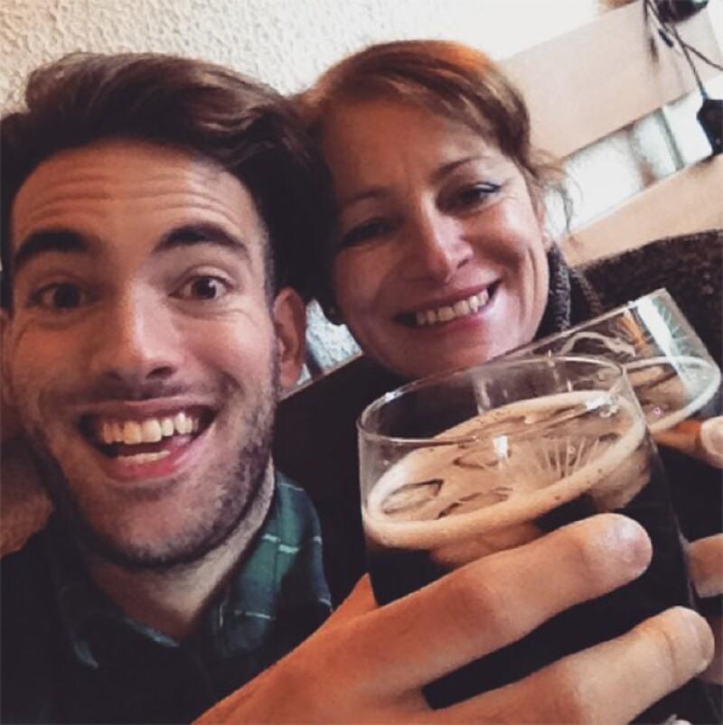 Gisella da Silva viajó a México hace unos meses para encontrarse con su hijo, quien estudiaba actuación en nuestro país.
