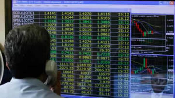 mercado pantalla indice bursatil wall street