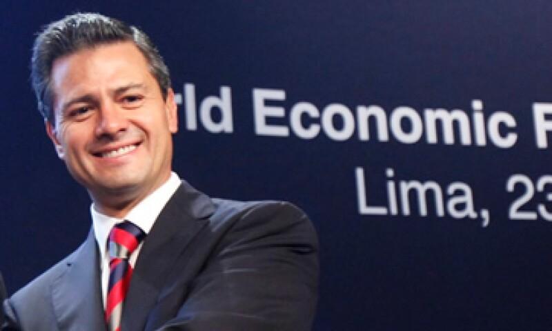 Peña Nieto dijo que se busca impulsar el crédito para la pequeña y mediana empresa. (Foto: Reuters)