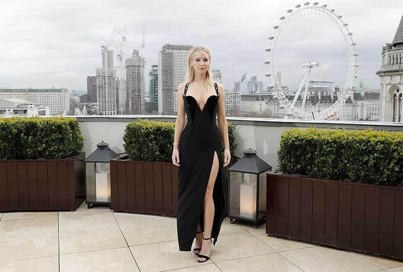 Jennifer Lawrence Versace Shooting