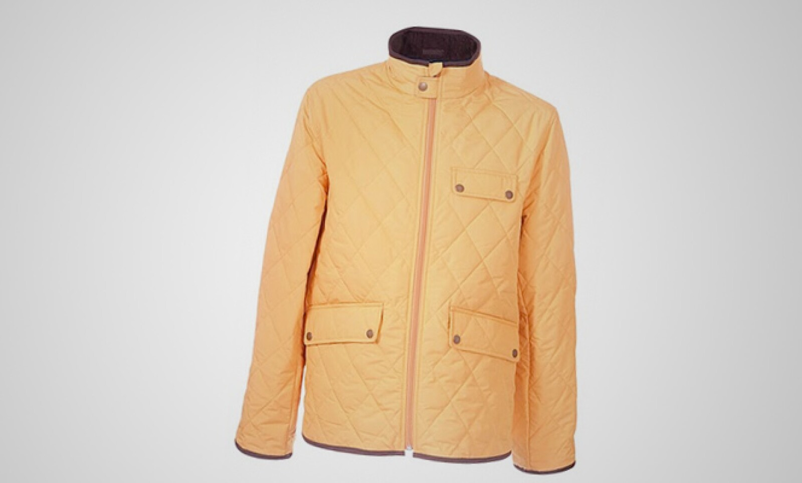 Atrévete con este color para protegerte de la lluvia vespertina.