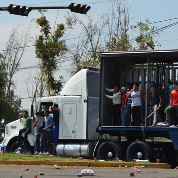 Michoacán bloqueos 2