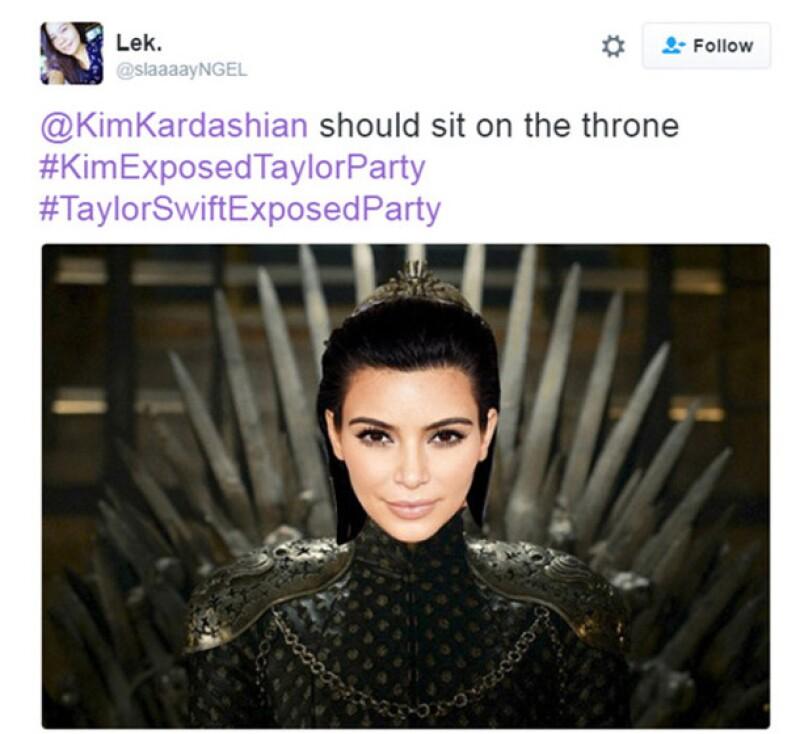 Después de que Kim destapara la mentira de la cantante con un video en Snapchat, el internet se encargó de crear los más divertidos memes sobre la pelea.