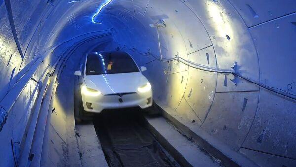 Así luce el primer tramo de Hyperloop, el túnel de transporte de alta velocidad