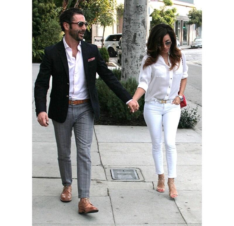La actriz ha contado que Pepe Bastón se comporta siempre como un caballero con ella.
