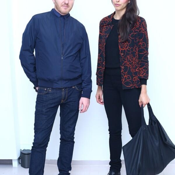 Christoph Zeller e Ingrid Moye