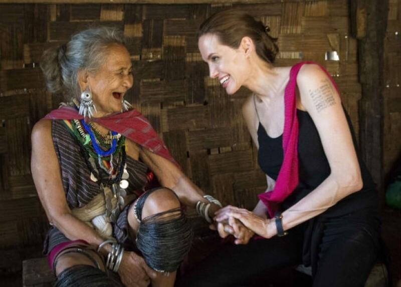 La actriz fue testigo de una emotiva experiencia al conocer a una mujer de 75 años con una conmovedora historia de vida como enviada especial de la ONU.