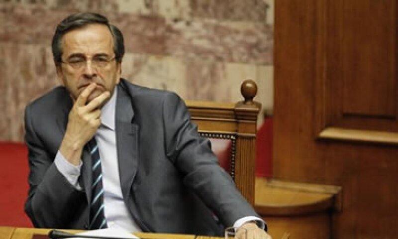 Samaras no ha podido ver a sus contrapartes europeas debido a que fue sometido a una cirugía ocular. (Foto: AP)