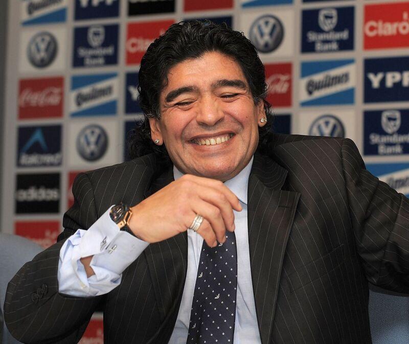 Diego Maradona Juan Román Riquelme