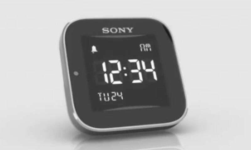 El reloj de Sony también puede silenciar llamadas.  (Foto tomada de store.sony.com.mx)