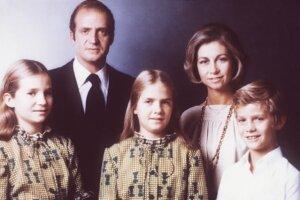 El rey Juan Carlos, la reina Sofía, el príncipe y las infantas en 1979.