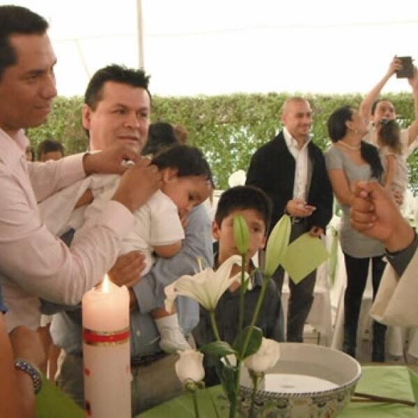 Familia Cerpa Medina adopcion pareja homosexual