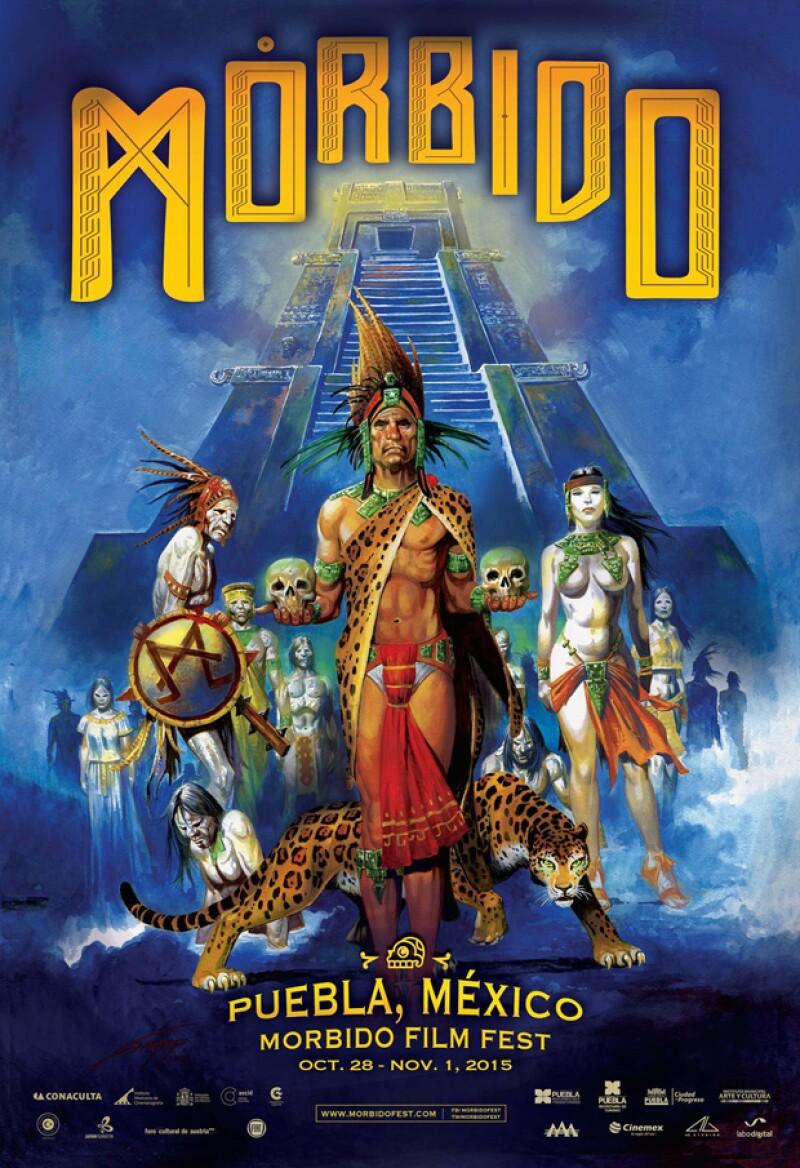 Mórbido Fest presenta un póster muy mexicano en su nueva edición.