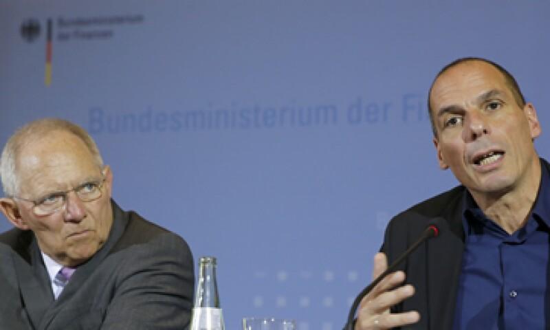Los ministros se vieron incómodos juntos. (Foto: Reuters )
