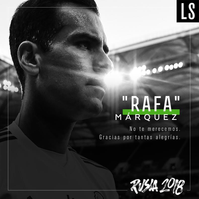Gracias, Rafa Márquez