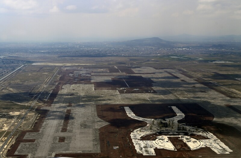 MEXICO-AIRPORT-CONSTRUCTION