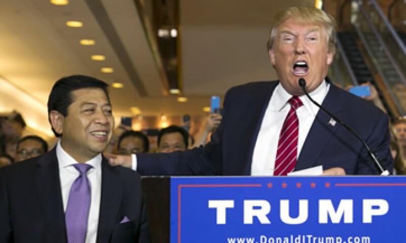 Donald Trump dice que su fortuna alcanza los 10,000 millones de dólares. (Foto: Reuters)