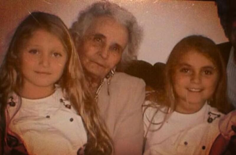 Fue la hija de Angélica Rivera, Sofía Castro, quien hace unos días compartió una foto de ella con su bisabuela.