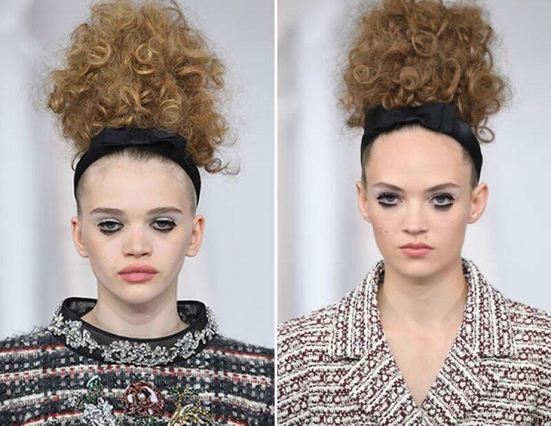 El beauty look de Chanel Alta Costura otoño 2016.