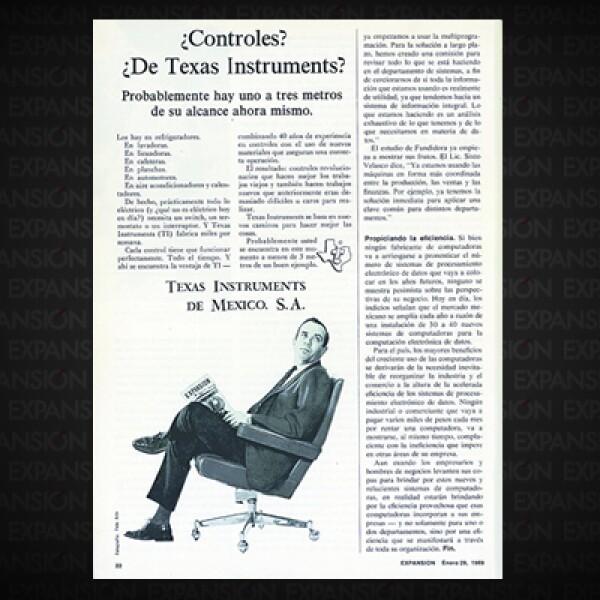 """""""Para el país, los mayores beneficios del creciente uso de la computadoras derivarían de la necesidad inevitable de reorganizar la industria y el comercio"""", concluía el artículo."""