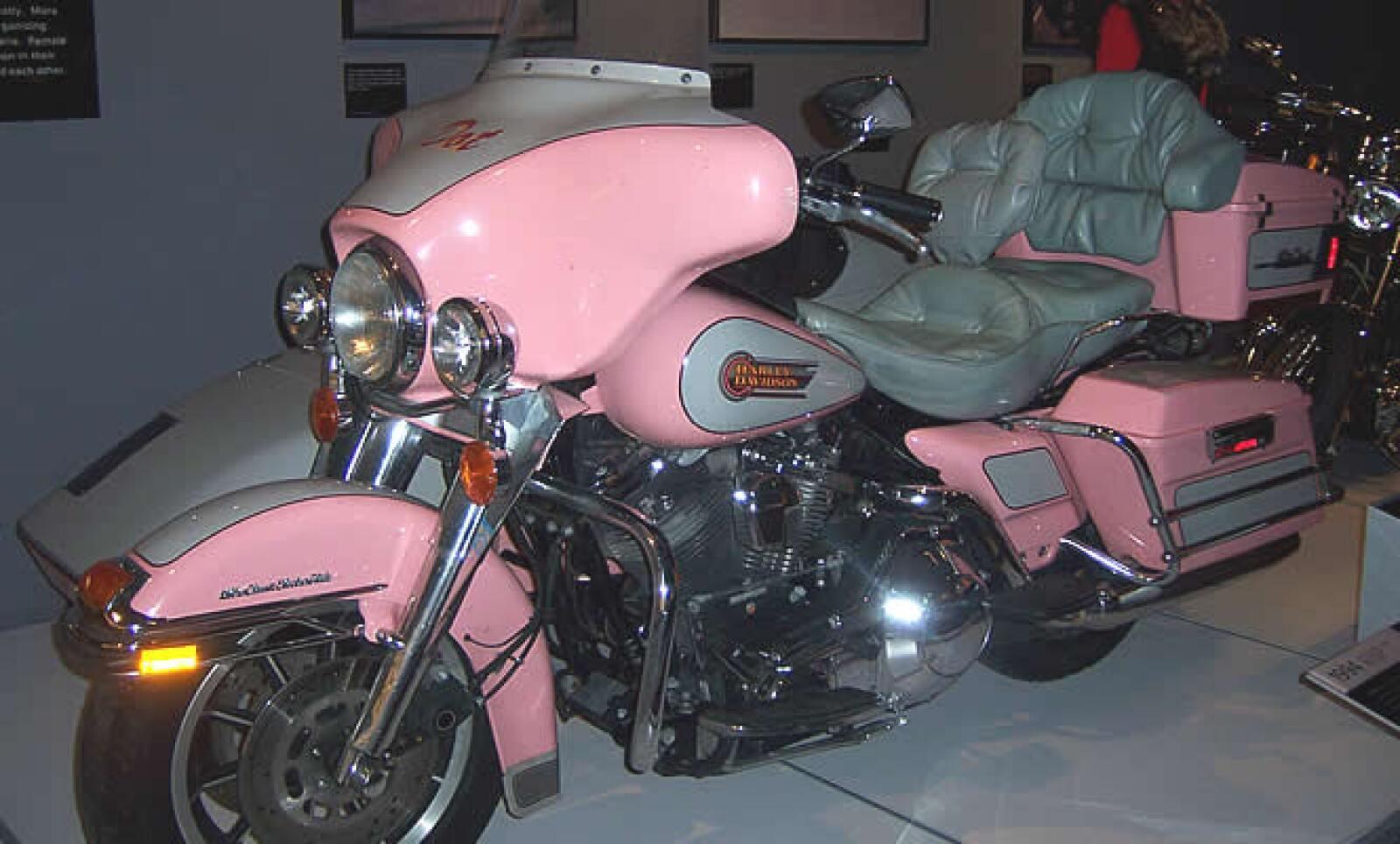 ¿Y quién dijo que Harley no incluía a las mujeres en su mercado?