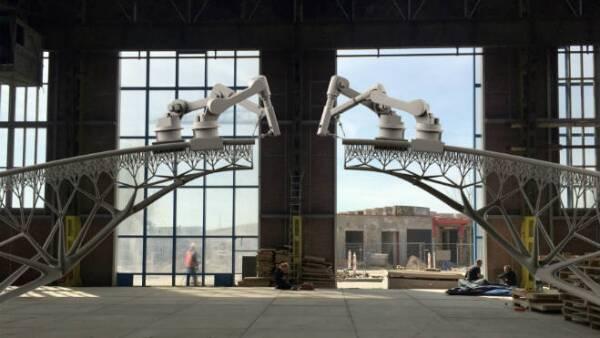 Robot construirá puente en �?msterdam