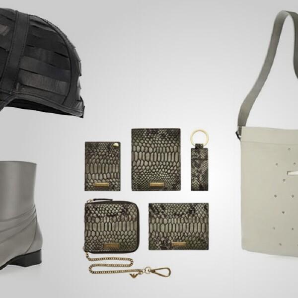 Emporio, la división de accesorios de Giorgio Armani, presenta su nueva colección primavera-verano para hombres.