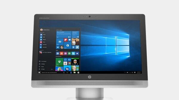 El sistema operativo ayuda a que la sensación sea la de tener una tablet gigante en la punta de los dedos.
