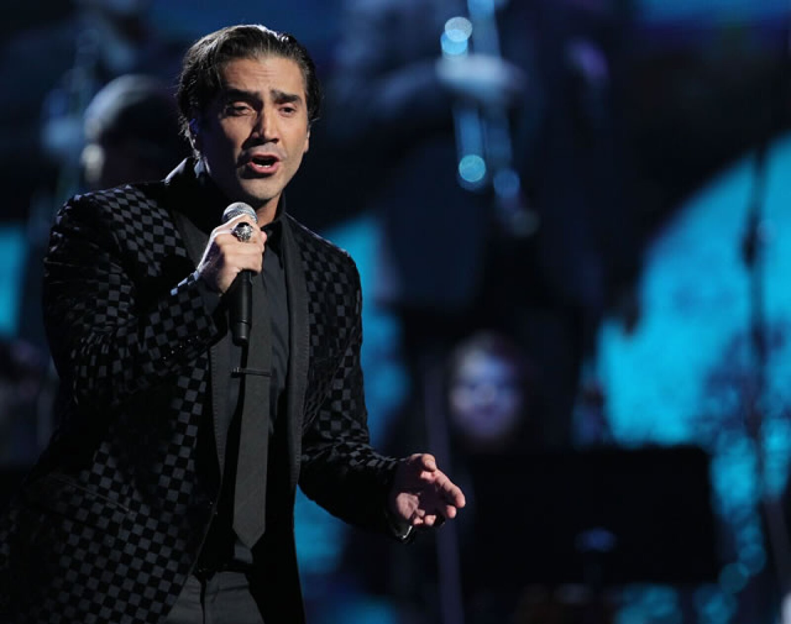 En 2010 en la entrega de Premios Grammy Latino.