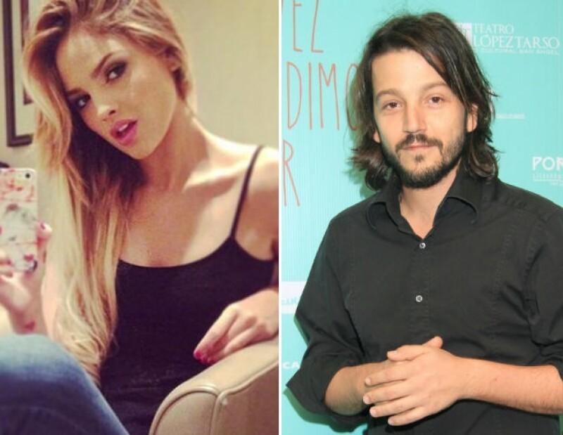 Eiza y Diego Luna han sido víctimas del hackeo en Twitter.